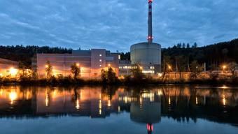Blick auf das Kernkraftwerk Mühleberg im Kanton Bern (Archiv)