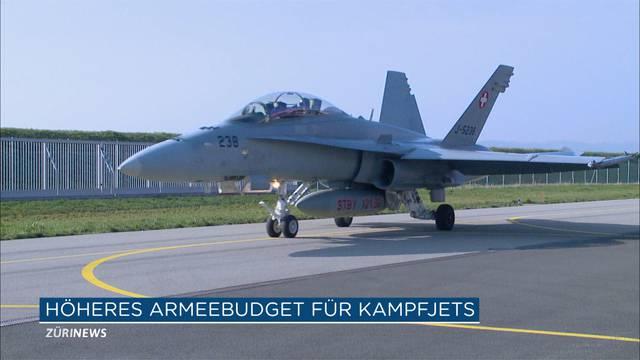 Luftverteidigung soll maximal 8 Mrd. Franken kosten