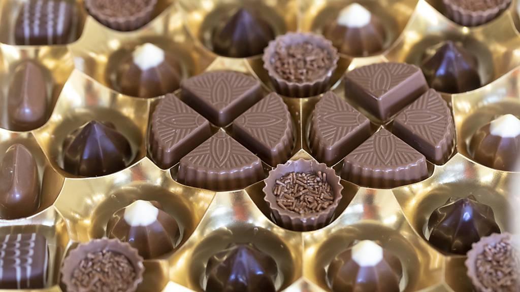Schokoladekonsum in der Schweiz stabilisiert sich