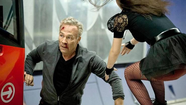 Glück gehabt: Kommissar Max Ballauf (Klaus J. Behrendt) entgeht dem Tod und will die Verfolgung der Schläger aufnehmen.