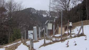 Messstation der Forschungsanstalt WSL am Bettlachstock. Diese soll nun vergrössert werden.