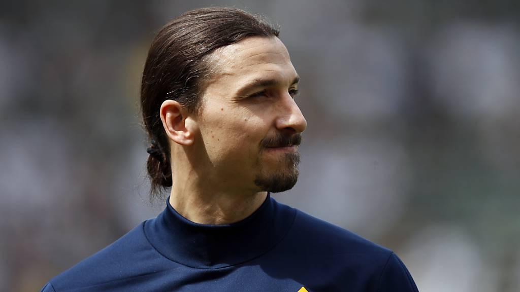 Spruch fehlt nicht: König Zlatan verlässt Los Angeles