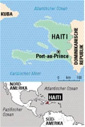 Haiti liegt in der Karibik.