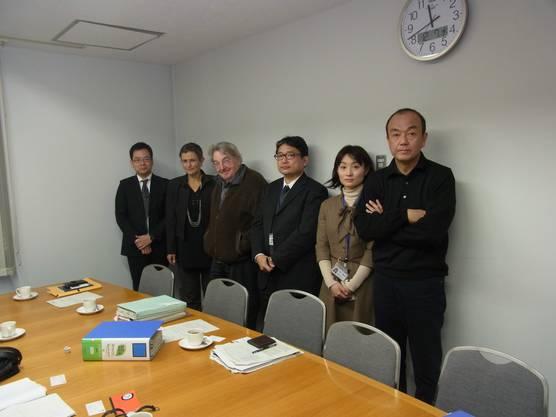 Gespräch mit Vertretern der Kraftwerk-Betreiberfirma Tepco