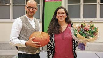 Christof Schauwecker und Laura Gantenbein wollten beide für die Grünen in den Wahlkampf für das Stadtpräsidium steigen.