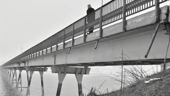 """Vor Jahren überlebte der Schriftsteller Thomas Hürlimann (67) einen Unfall auf einer Brücke: """"Ich glaubte über die Grenze in eine andere Welt zu schweben""""."""