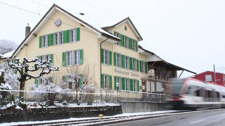 """Das ehemalige Restaurant """"Seetal"""" steht vor der Wiedereröffnung."""