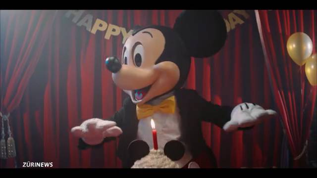 Mickey Mouse wird 90