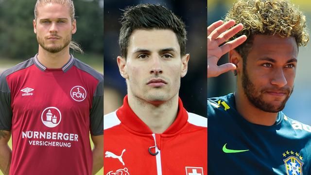 Rúrik Gíslason, Fabian Schär und Neymar Jr. gehören zu den Hinguckern der WM.