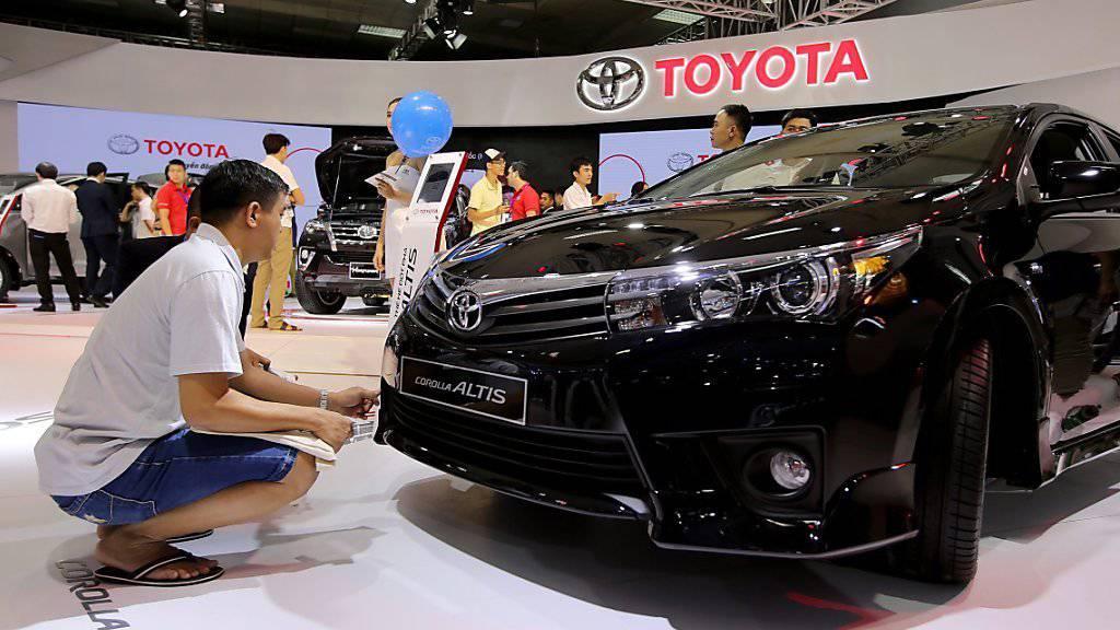 Der Toyota Corolla soll im neuen Werk in Mexiko vom Band laufen. (Archivbild)