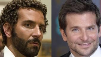 Bradley Cooper mit und ohne Locken (Archiv)