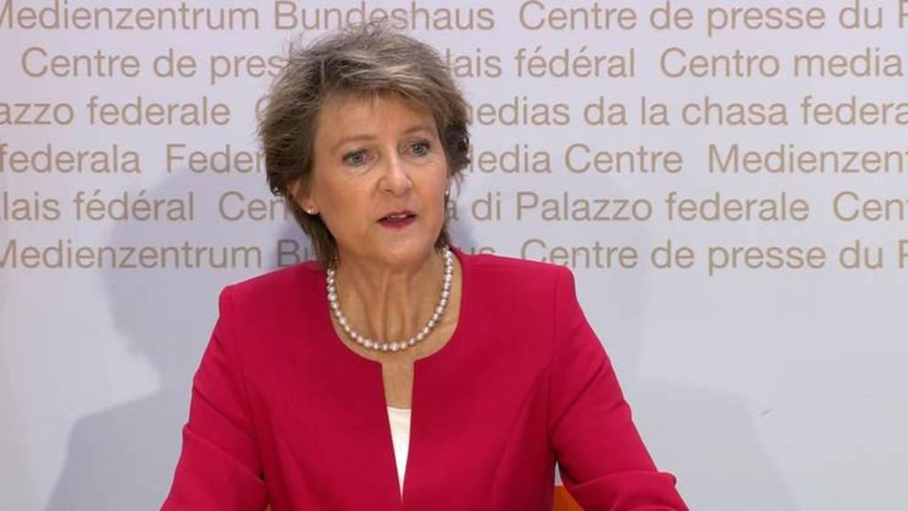 Komplette Pressekonferenz des Bundesrats vom 27. Mai 2020