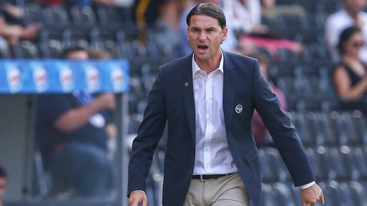 Somit feiert Gerardo Seoane den ersten Sieg als YB Cheftrainer.