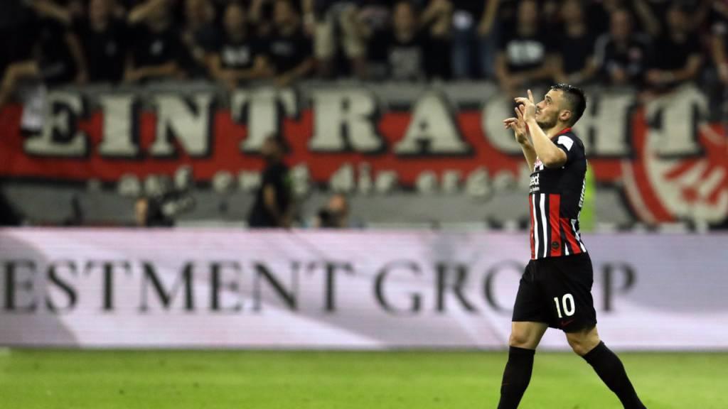 Eintracht Frankfurt schafft  die Wende