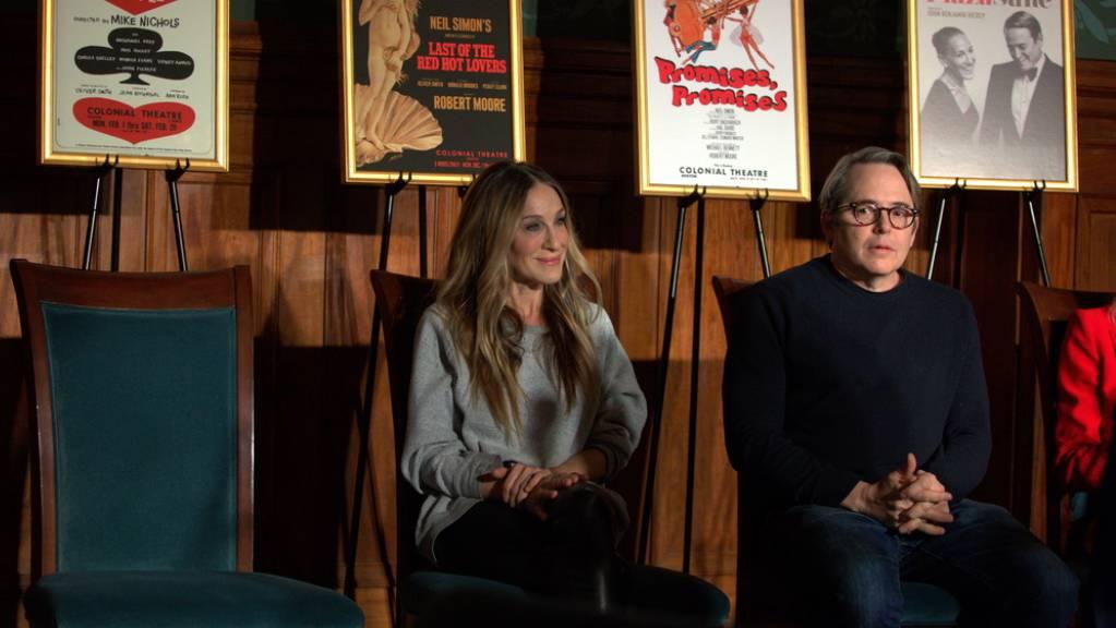 Spielen zum ersten Mal seit rund 25 Jahren wieder zusammen: US-Schauspielerpaar Sarah Jessica Parker und Matthew Broderick.