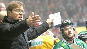 Vor dem Saisonstart optimistisch: EHCO-Trainer Heikki Leime.