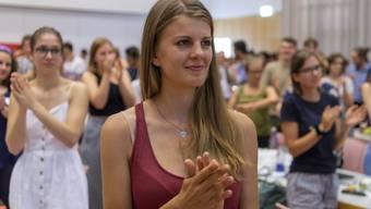 Die neue Juso-Präsidentin Ronja Jansen.