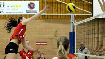 Impressionen vom NLA-Volleyballmatch Sm'Aesch - Cheseaux