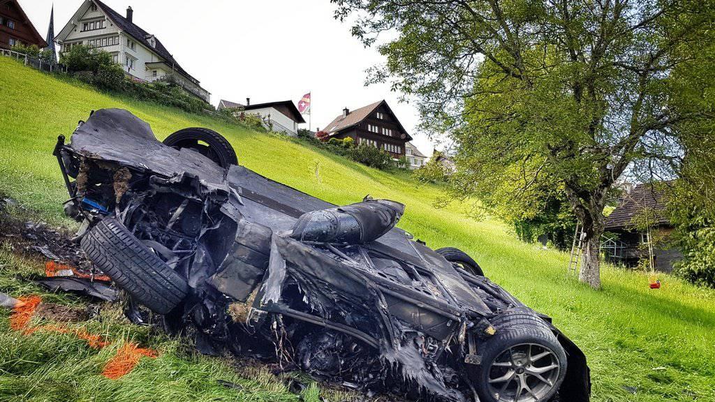 Die Verantwortlichen mussten letztes Jahr einen Schock verdauen. Richard Hammond crasht mit seinem Rennwagen.