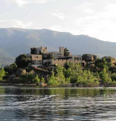Die Isla Centinela im Becken von Bergullio in Spanien kostet4,3 Millionen Franken – Schloss inklusive.