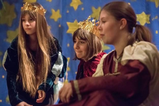 Auch die heiligen drei Königinnen waren zur Stelle