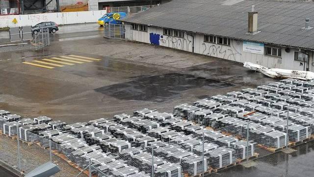 Hier sollen dereinst 500 Asylsuchende leben: Duttweiler-Areal in Zürich