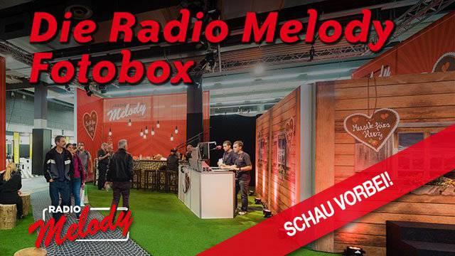 Die Radio Melody Fotobox an der Olma
