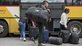 Dass viele Flüchtlinge für ein paar Wochen zurück in ihre verschiedenen Heimatländer reisen, zeigen die neuesten Zahlen des Staatssekretariats für Migration (SEM).