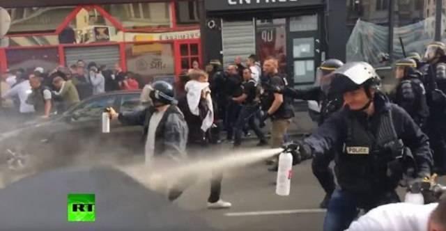 Neue Krawalle in Lille: Polizei setzt Tränengas und Schlagstöcke gegen 200 Fans ein