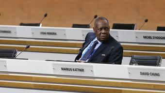 Plötzlich im Abseits: Issa Hayatou wurde als Präsident des Afrikanischen Fussballverbands abgewählt