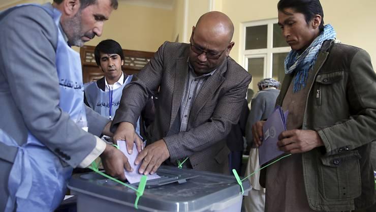 Die abgegeben Stimmen in Kabul wurden als ungültig erklärt