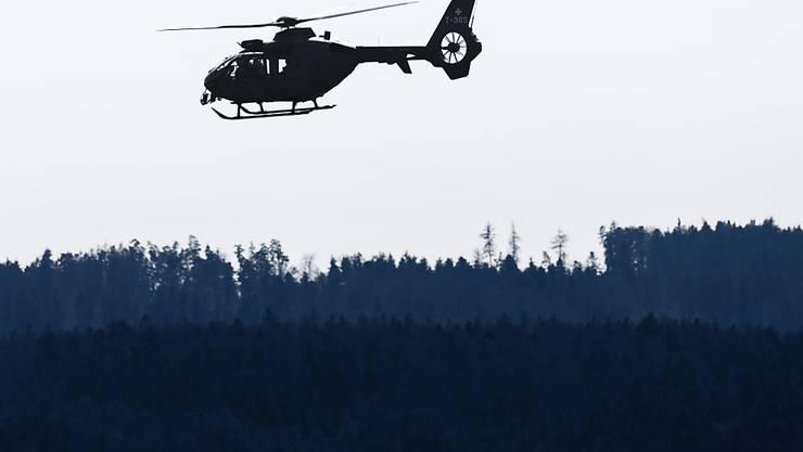 In Olten mussten zwei verunfallte Velofahrer mit dem Helikopter aus steilem Gelände geborgen werden. (Symbolbild)