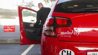 Reservieren und einsteigen: Mobility-Autos stehen rund um die Uhr zur Verfügung.zvg