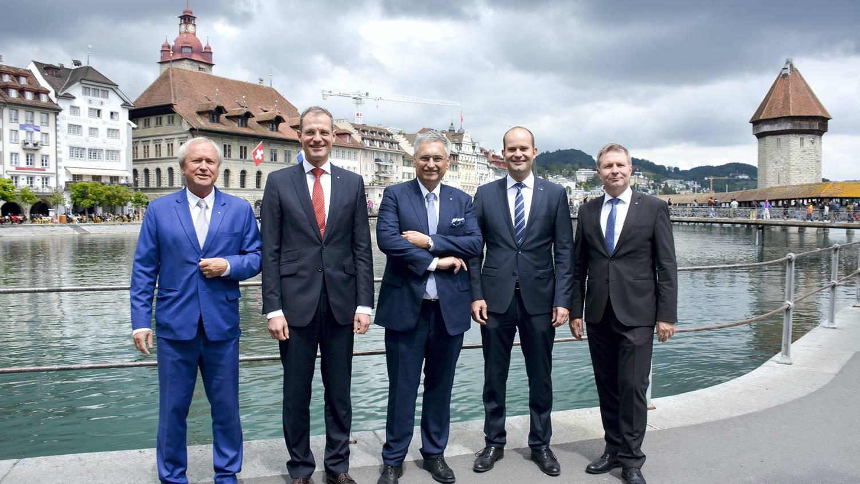 CVP sorgte für Wechsel in Luzerner Regierung