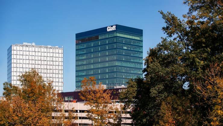 Das Glattzentrum zählt zu den grössten Einkaufszentren der Schweiz.