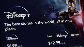 Disney setzt mit dem eigenen Streaming-Kanal Konkurrenten wie Netflix unter Druck. (Archiv)