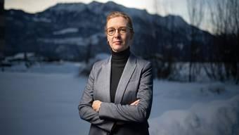 """Sabine Monauni will am 7. Februar erste Regierungschefin in Liechtenstein werden. """"Die Zeit ist reif für Frauen"""", sagt sie."""