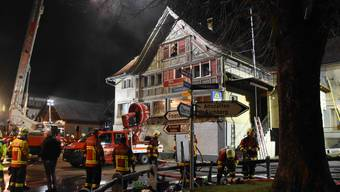 Brand in Restaurant in Oberriet
