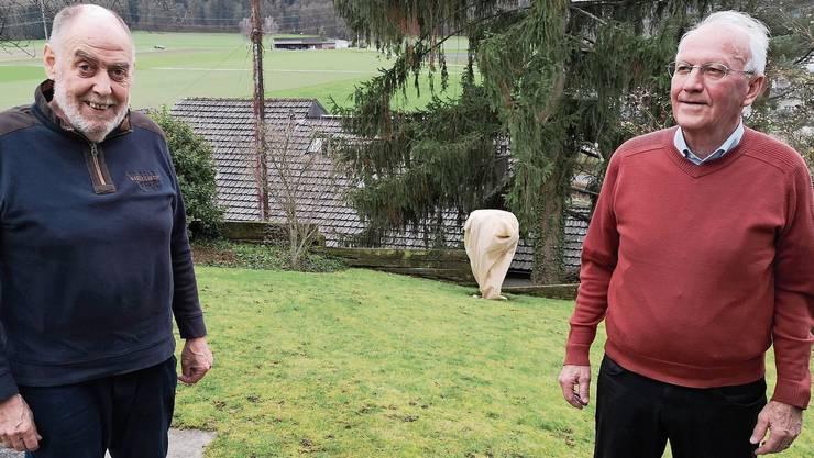 «Wir sind konstruktiv»: alt Stadtrat Max Werder (l.) und alt Stadtammann Rolf Bachmann.