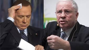 SP-Präsident Levrat vergleicht SVP-Chefdenker Christoph Blocher mit Italiens Querschläger Silvio Berlusconi.