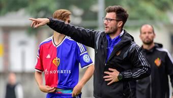 Seine Spieler wissen, wo es langgeht: Raphael Wickys Anweisungen als Nachwuchstrainer beim FC Basel kamen immer gut an.
