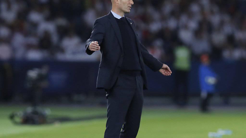 Zinédine Zidane will mit Real Madrid erneut Klub-Weltmeister werden