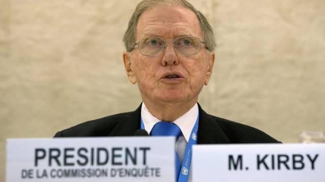 Chef des UNO-Ermittlungsausschusses für Nordkorea, Michael Kirby