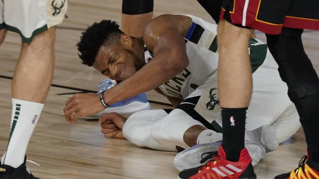 Milwaukee mit Giannis Antetokounmpo muss gegen Miami vier Siege aneinanderreihen, um weiterzukommen