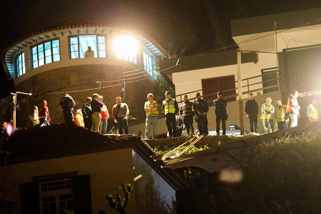Tödliches Busunglück auf Madeira (© Keystone)