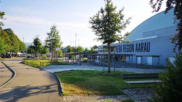 Wird noch längere Zeit weniger intensiv genutzt als ursprünglich gedacht: Die Kunsteisbahn Aarau (Keba), die im November 2016 nach einer 20,7 Mio. Fr. teuren Totalsanierung wiedereröffnet wurde.