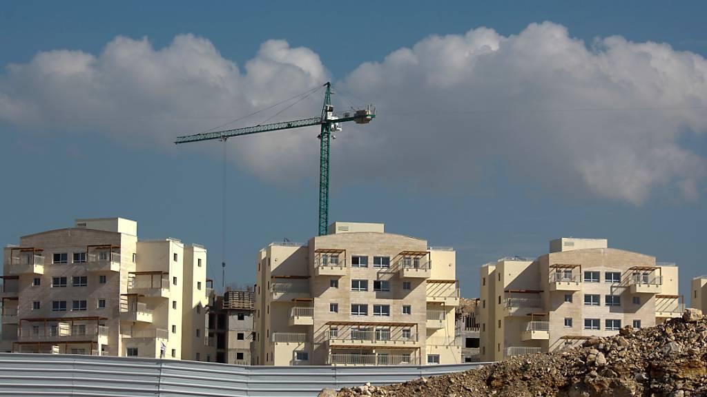 Israel treibt Siedlungsbau auch nach Kritik der USA voran