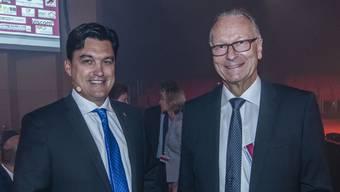 Christoph Buser, Direktor und Andreas Schneider, Präsident der Wirtschaftskammer