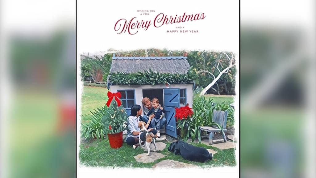 So wünschen Harry und Meghan fröhliche Weihnachten