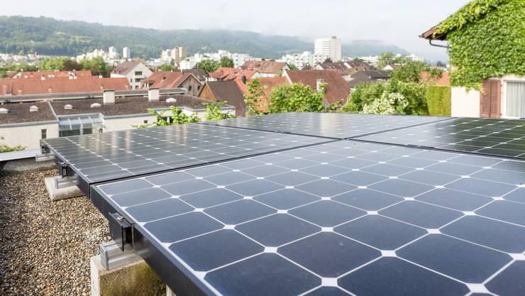 SP-Grossrat Max Chopard investierte bereits in die solare Zukunft.